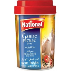 NATIONAL GARLIC PICKLE 500G