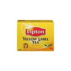 lipton yellow label tea BAGS 100G 50BAGS