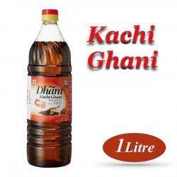 dhara kachi ghani mustard oil 1 ltr